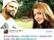 आखिर विराट कोहली ने क्यों डिलीट की अपनी और अनुष्का की वेलेन्टाइन फोटो?