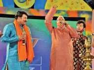 PICS: लालू के गाने ने मिटा दी दूरियां, एक मंच पर साथ दिखे राजनीति के जानी दुश्मन