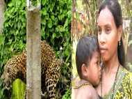ये है वो बहादुर मां जो तेंदुए के मुंह से छीन लाई अपना बच्चा