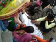 घरेलू लाइन में बहने लगा 11000 का करेंट, 6 झुलसे, 1 की मौत