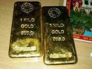 मुगलसराय रेलवे स्टेशन पर सत्तर लाख का दो किलो सोना बरामद
