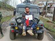 युवक को सेना की जीप से बांधने की घटना पर आर्मी यूनिट के खिलाफ केस दर्ज