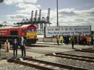 लंदन से चलकर चीन पहुंची ट्रेन, 12,000 किलोमीटर का सफर 20 दिन में तय किया