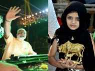 गुजरात में मुस्लिम बच्ची ने PM मोदी को दी सोने की गाय, साथ में की एक अपील