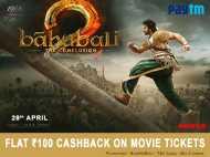 वनइंडिया कूपन से बाहुबली-2 की टिकट बुकिंग पर पाएं 100 रुपए का कैशबैक