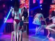 Video:नाइट क्लब में स्ट्रिप डांसर के साथ इंटीमेट हुआ प्रेमी, देखिए गर्लफ्रेंड ने किया क्या हाल?