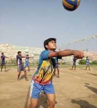 पूर्व माओवादी की बेटी भारतीय वॉलीबॉल टीम में