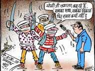 CM योगी से अपराधियों ने पूछा- हमारा विकास कब होगा साहब?