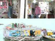 मोदी की काशी में नाव पर चलता हाईटेक स्कूल, नहीं देनी पड़ती कोई फीस