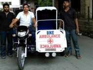 हैदराबाद के गैरेज मालिक ने बनाया टू व्हीलर एंबुलेंस, इतनी है कीमत