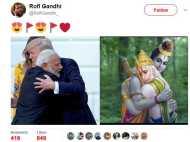 राम-हनुमान की तरह है मोदी ट्रंप का मिलन, सोशल मीडिया ने ली चुटकी