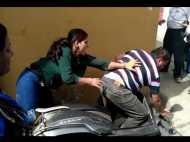 VIDEO: महिला ने तोड़ा जेठ का ताला और सबने देखा