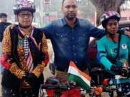 साइकिल से देश का चक्कर लगाकर लौटी बिहार की बेटी, नीतीश को बताएंगी महिलाओं का हाल