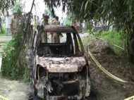 कार के साथ जली लाश, पुलिस तफ्तीश में खौफनाक मर्डर का खुलासा