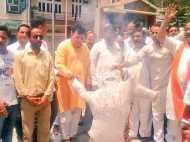 कोटखाई गैंगरेप पर भाजपा का धरना-प्रदर्शन, कांग्रेस भी जागी
