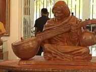 एपीजे अब्दुल कलाम की मूर्ति के हाथ में वीणा और बगल में गीता, विवाद