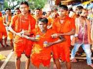 PICs: भगवान भोलेनाथ के श्रद्धालु कांवरियों ने पेश की दोस्ती की मिसाल
