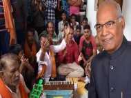 VIDEO: देश के सबसे पहले नागरिक- राष्ट्रपति रामनाथ कोविंद को उनके गांव की मिली सबसे पहली बधाई