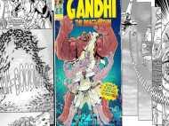 सुपरहीरो के अवतार में महात्मा गांधी, अंग्रेजों के बाद हिटलर की बारी