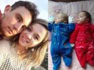 PICS: मौत के 123 दिन बाद दिया जुड़वां बच्चों को जन्म