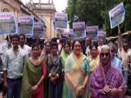 केन-बेतवा लिंक परियोजना का जबरदस्त विरोध, राजमाता भी उतरीं सड़कों पर
