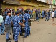 PICs: सहारनपुर में छात्र की मौत पर बवाल, इलाके में भारी सुरक्षा बल तैनात