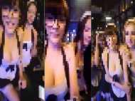फेसबुक लाइव कर रही थीं तीन खूबसूरत लड़कियां, पुलिस ने किया  गिरफ्तार