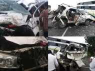 कांग्रेस के बड़े नेता की सड़क दुर्घटना में दर्दनाक मौत, बस-कार में हुई भीषण टक्कर