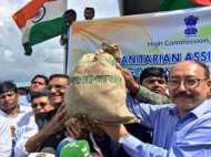 भारत ने बांग्लादेश में रोहिंग्या शरणार्थियों के लिए भेजी राहत सामग्री