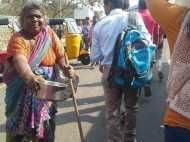 इवांका ट्रंप की यात्रा खत्म होते ही हैदराबाद की सड़कों पर लौटे भिखारी