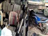 कोहरे का कहर: NH-24 पर एक दूसरे से टकराई आधा दर्जन से ज्यादा गाड़ियां, दर्जनों घायल, देखें VIDEO