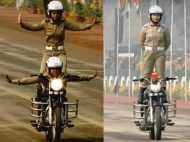 #RepublicDay: राजपथ पर महिला शक्ति का प्रदर्शन, BSF की  'सीमा भवानी' टीम का शानदार करतब