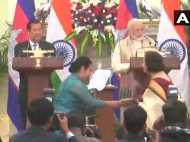 भारत-कंबोडिया के बीच हुए चार समझौते, पीएम मोदी बोले- हम भविष्य में अपने रिश्ते को और मजबूत करना चाहेंगे