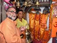 सपा छोड़कर भाजपा में आए बुक्कल नवाब ने हनुमान जी को चढ़ाया 20 किला का घंटा