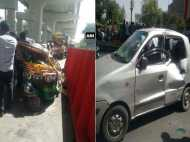 गाजियाबाद के मोहन नगर में बड़ा हादसा, मेट्रो का गार्डर गिरने से 7 लोग घायल