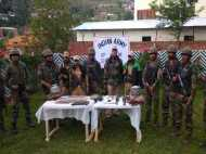 जम्मू कश्मीर: सर्च ऑपरेशन के दौरान आतंकी ठिकाने का पर्दाफाश, AK 47 राइफल समेत कई हथियार बरामद