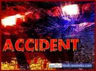 यूपी: कार हादसे में गायब 5 व्यापारियों में से चार के शव बरामद, परिवार ने शव को रास्ते पर रख लगाया जाम
