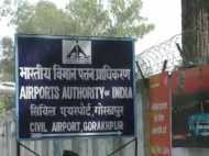 गोरखपुर एयरपोर्ट पर रिवॉल्वर की बुलेट के साथ पकड़ा गया युवक, अथॉरिटी ने किया पुलिस के हवाले