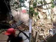 VIDEO: ताश के पत्तों जैसी बिखर गई बिल्डिंग, देखते ही देखते हो गई जमींदोज