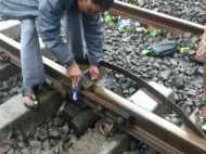 क्या टूटे ट्रैक पर कपड़ा बांध निकाली ट्रेन? सेंट्रल रेलवे ने दी सफाई, देखें VIDEO