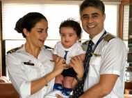 VIRAL: बेटे निहाल संग गुल पनाग ने शेयर की पहली फोटो, पायलट की यूनिफॉर्म में दिखा पूरा परिवार