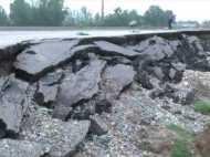 UP: 26 सौ करोड़ से बन रहा बरेली-सीतापुर राष्ट्रीय राजमार्ग धंसा, प्रशासन ने बंद कराया हाईवे