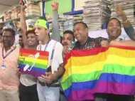 Section 377: समलैंगिकता पर सुप्रीम कोर्ट का फैसला आने के बाद जश्न की तस्वीरें