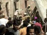 दिल्ली के सावन पार्क स्थित इमारत ढही, चार बच्चें, एक महिला की मौत