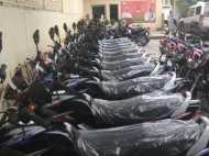 'कमल बाइक' पर सवार होकर मतदाताओं से वोट मांगने जाएंगे भाजपा नेता