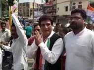 भारत बंद: लखनऊ में सड़क पर उतरे कांग्रेसी, पुलिस की निगाह सोशल मीडिया पर