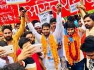 इलाहाबाद विवि चुनाव में सपा का परचम, परिणाम के बाद कैंपस में आगजनी