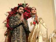 Wedding Reception दीपवीर का लेकिन महफिल लूटी इन्होंने, लुक में दीपिका को भी कर दिया मात