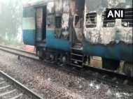 कालका-हावड़ा एक्सप्रेस की बोगी में आग लगने से हड़कंप, 5 यात्री घायल