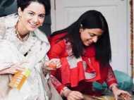 हिमाचल प्रदेश: अपने नए आशियाने में कंगना रनौत ने परिवार संग मनाई दीपावली, देखें तस्वीरें